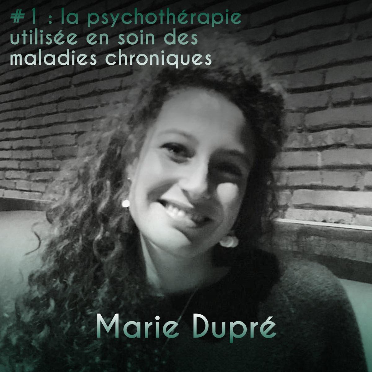 Couverture Podcast #1 Marie Dupré