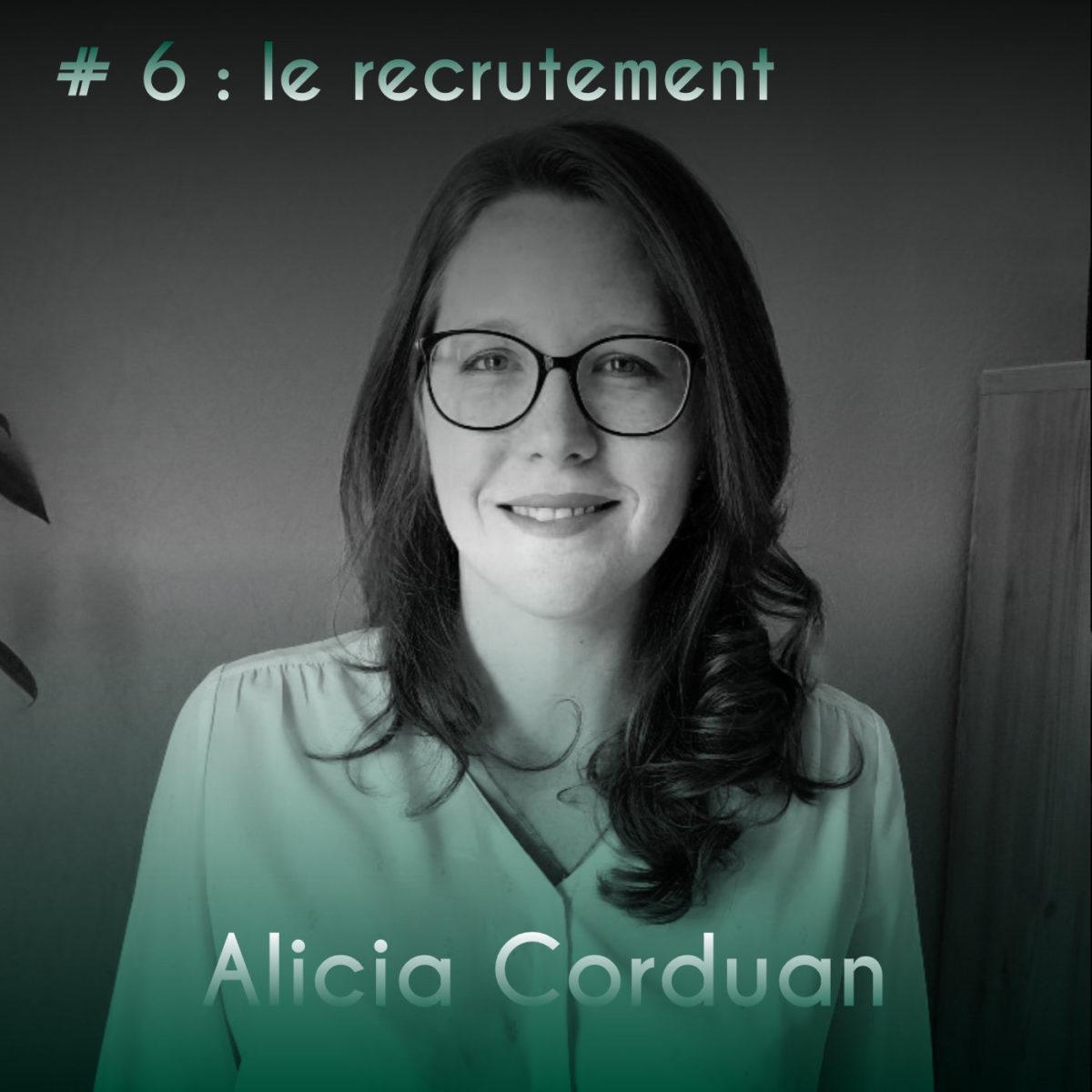 Couverture Podcast #6 Alicia Corduan