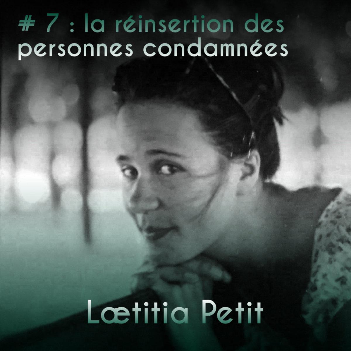 Couverture Podcast #7 Laetitia Petit