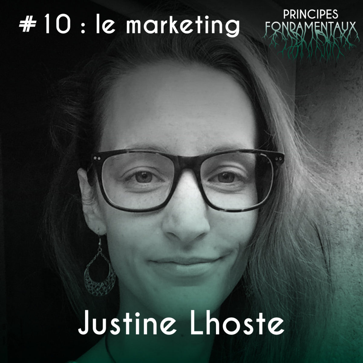 Couverture Podcast #10 Justine Lhoste