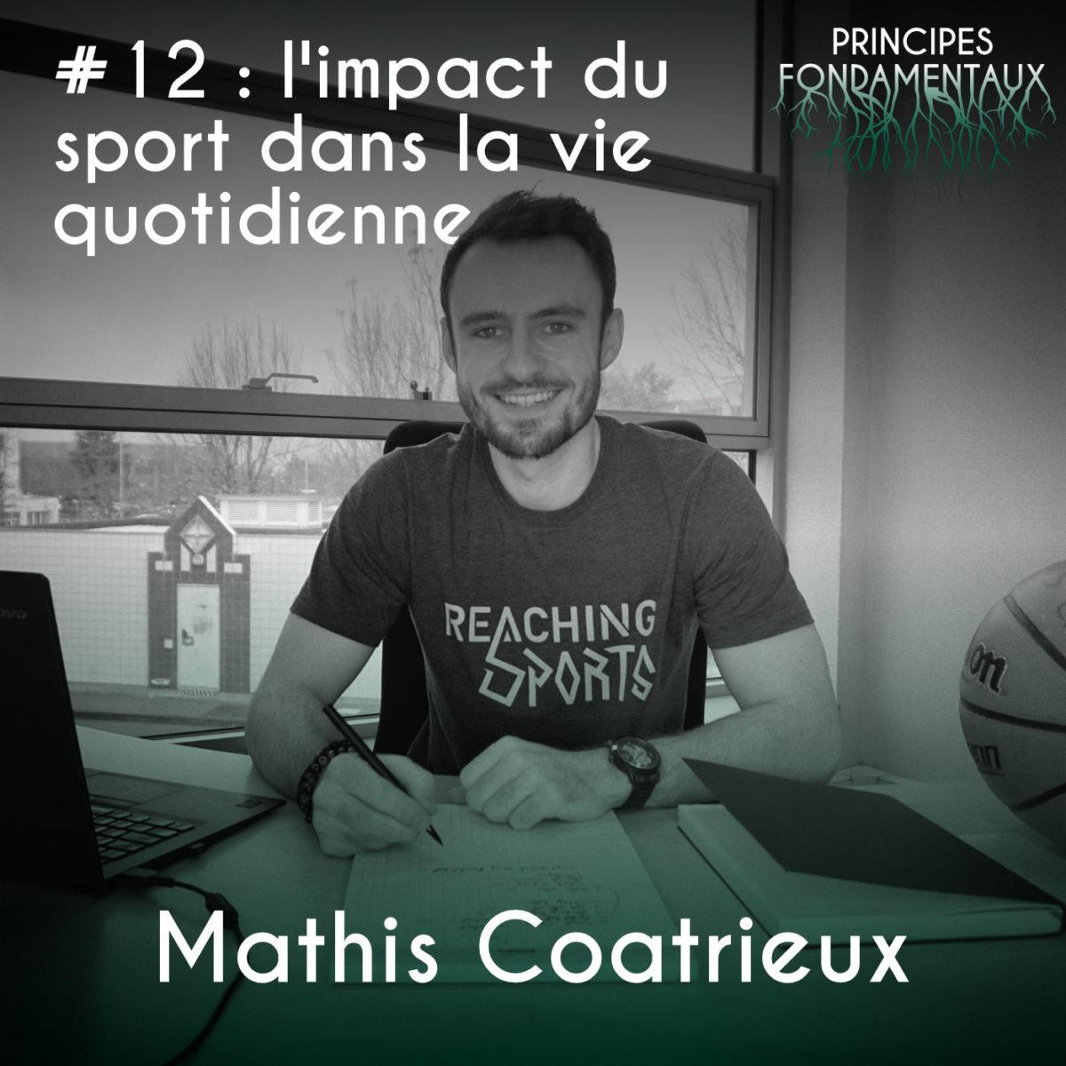 Couverture Podcast #12 Mathis Coatrieux