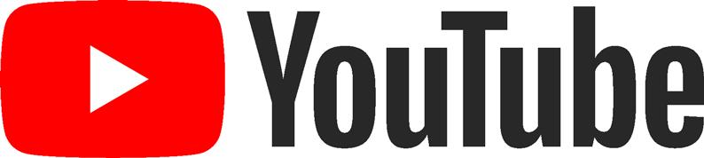 logo Youtube clair